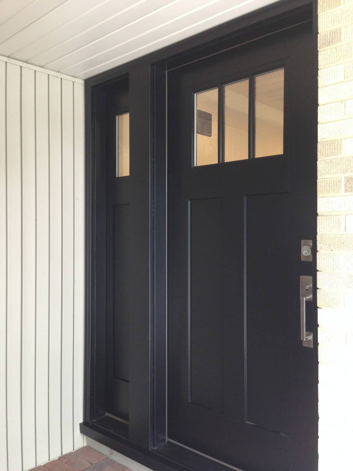 Craftsman Entry Doors Fiberglass Examples Ideas