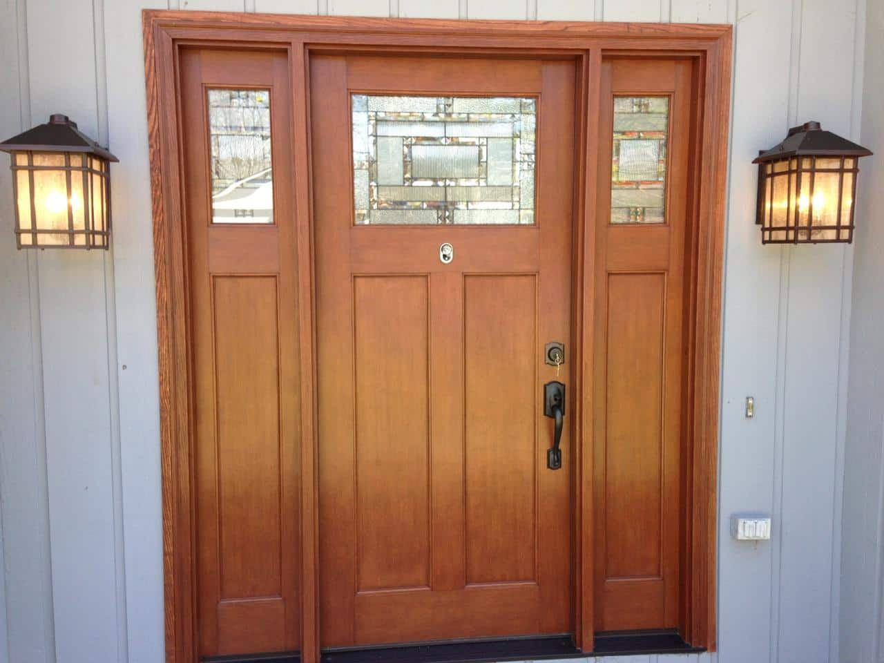 960 #7F3E26 Albany Door Company Inc. Fiberglass Doors picture/photo Exterior Fiberglass Doors 39991280