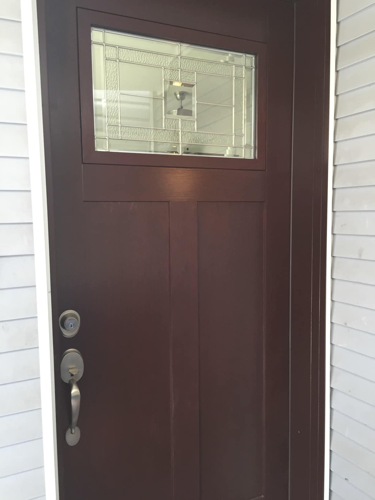 Chicago 39 s best fiberglass entry doors sahara window and dors - Paint or stain fiberglass exterior doors concept ...