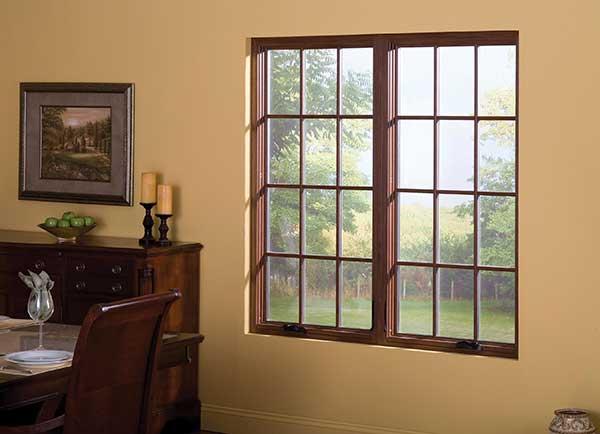 Twin casement windows