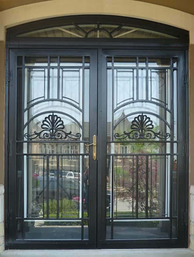 Custom Steel Security Storm Doors Sahara Window And Doors