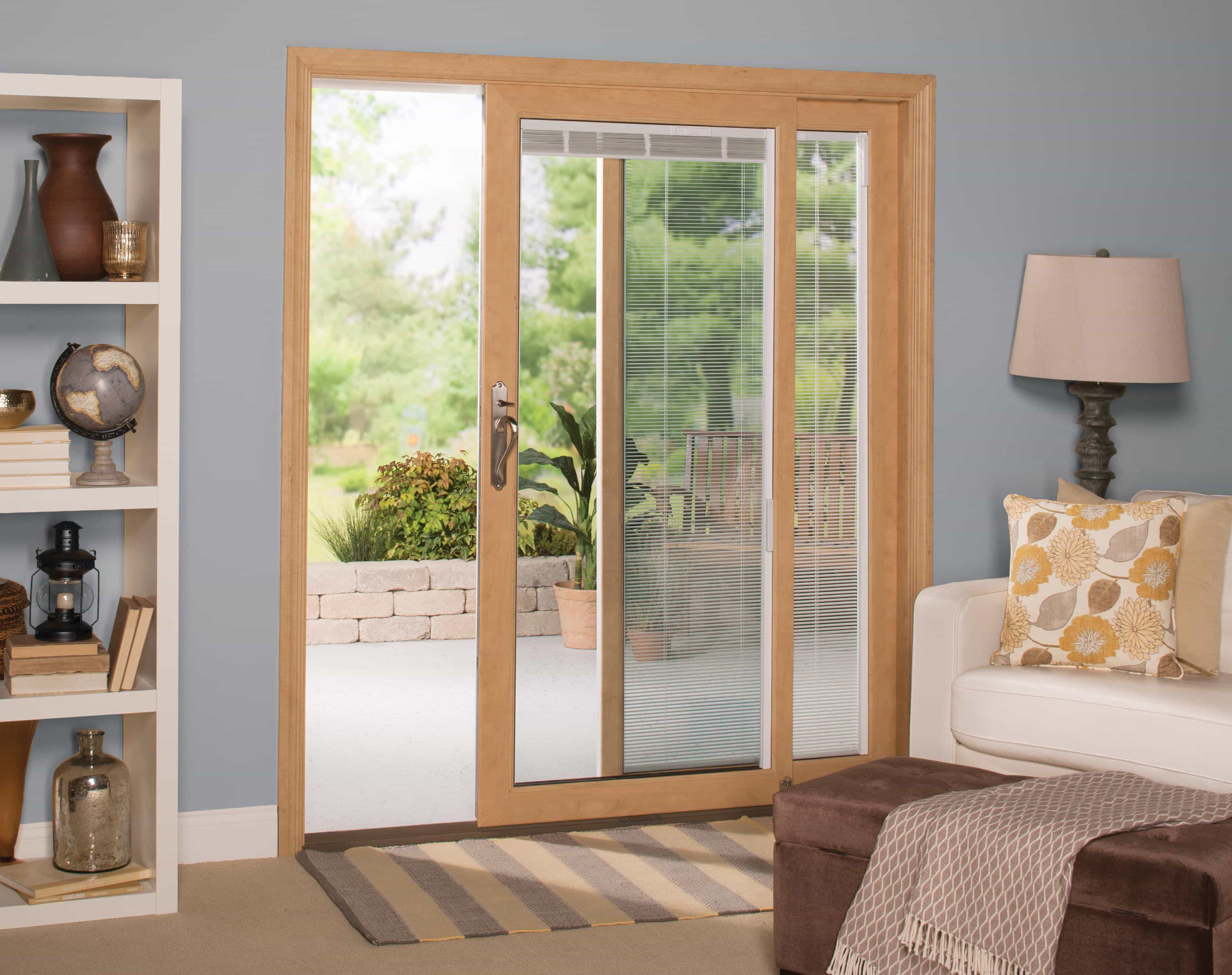Simplify your life with windows and doors with built in blinds for Ideal windows and doors