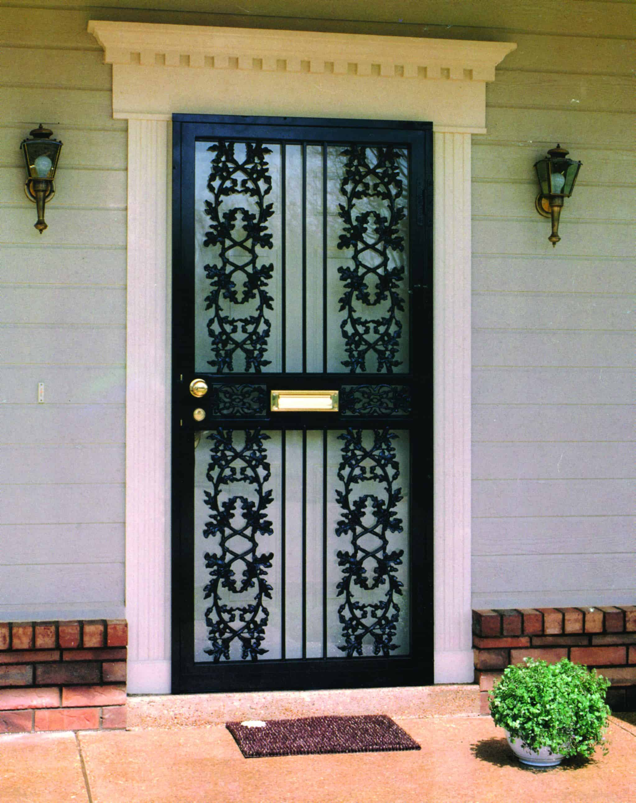 Wrought-Iron-Security-Storm-Door-1 (1) - Sahara Window And ...