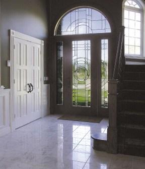 Door with windows