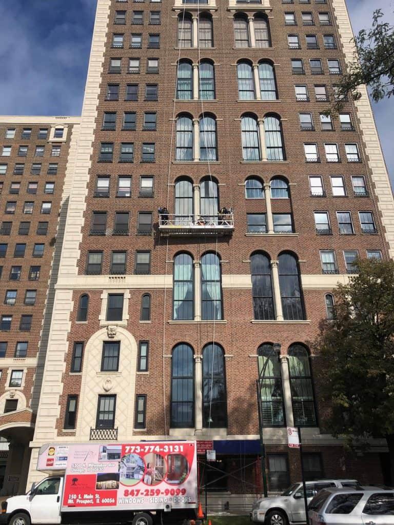 commercial aluminum windows high rise