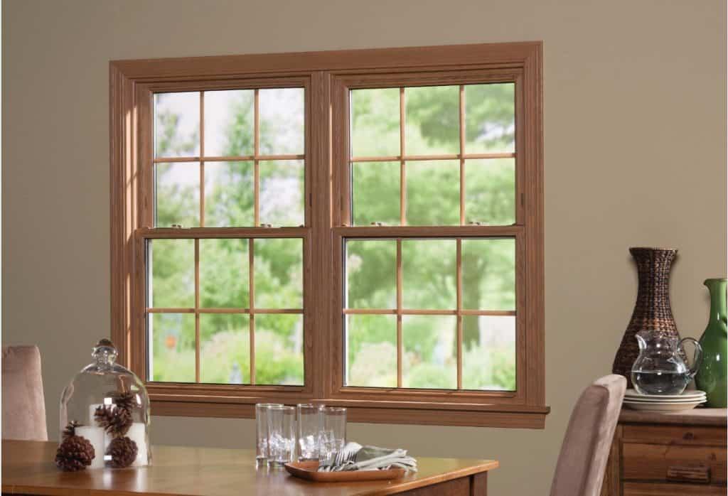vinyl double hung windows